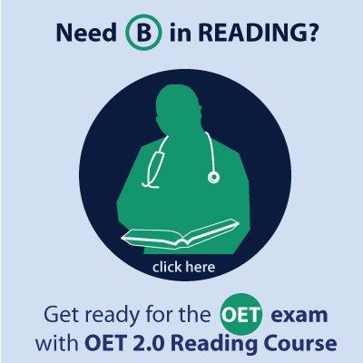 OET Reading Skills