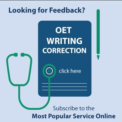 OET Writing Skills