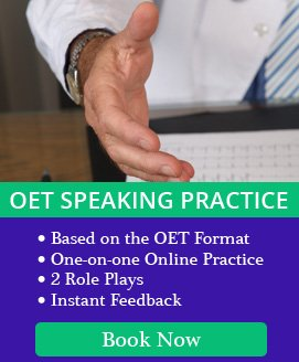 OET Speaking Evaluation Mock Test