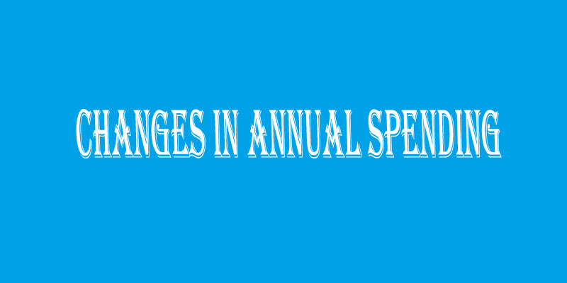 Changes in Annual Spending