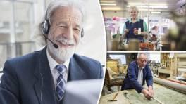 Older people working