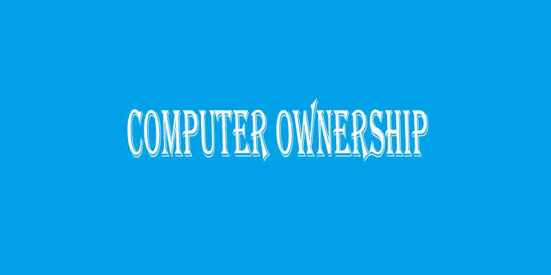 Bar Graph – Computer Ownership