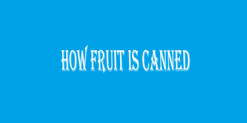 Ielts Report 11 Diagram How Fruit Is Canned Benchmark