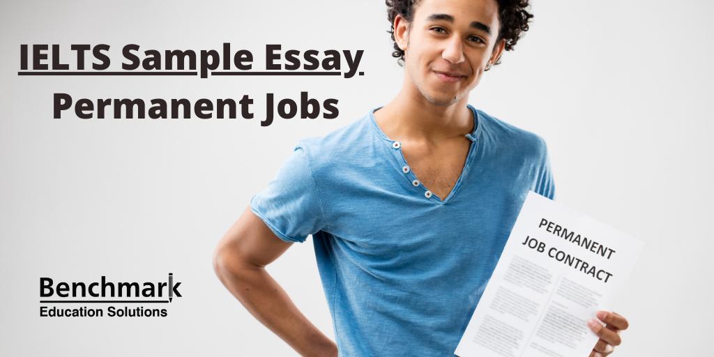 IELTS Sample Essay Permanent Jobs