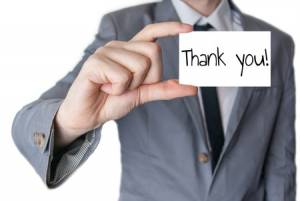 thanking manager