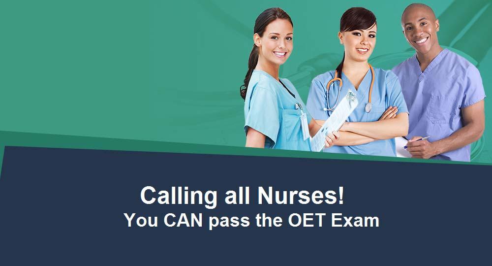 call oet nurses