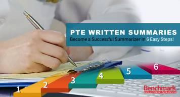 PTE Written Summaries