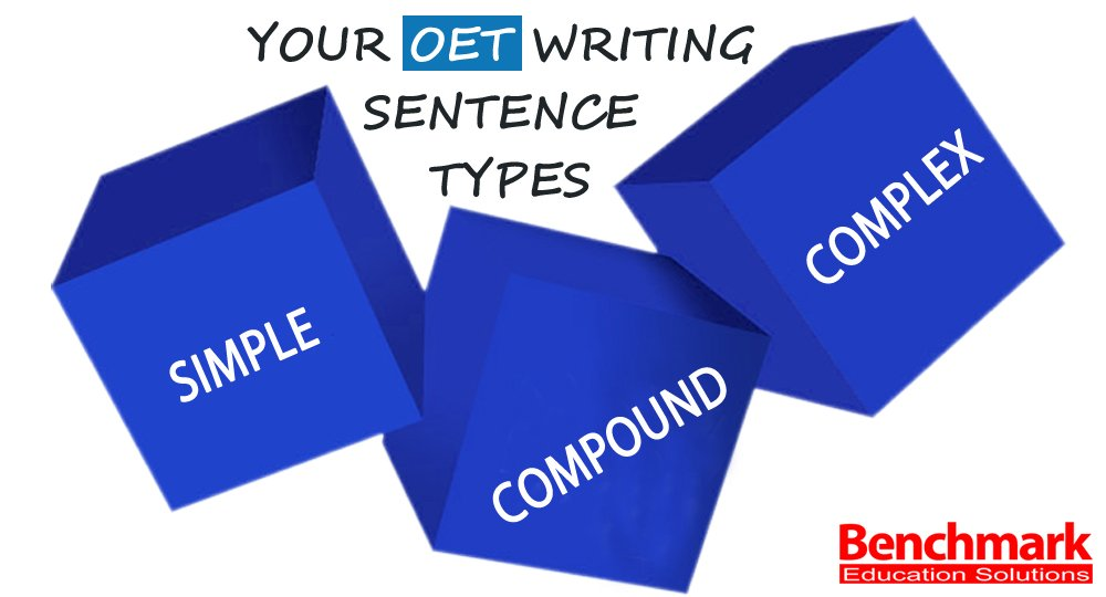 Vary Your OET Writing Sentence Types Simple Compound and Complex