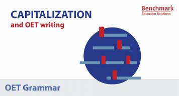 Capitalization and OET Writing