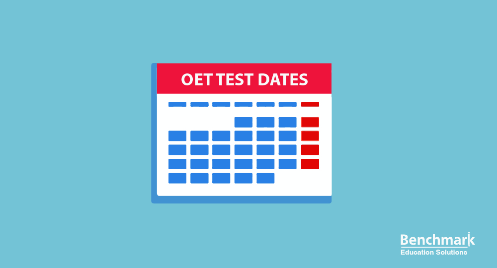 OET Test Dates 2019