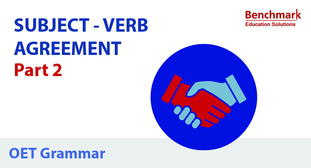 OET Writing Tips Subject Verb Agreement part 2
