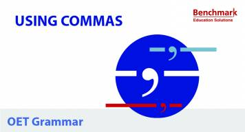 Using Commas for OET Writing