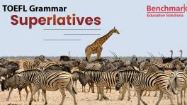 TOEFL Writing Superlatives