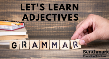 ADJECTIVES in oet writing
