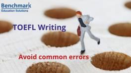 Raise your TOEFL writing score by avoiding common errors