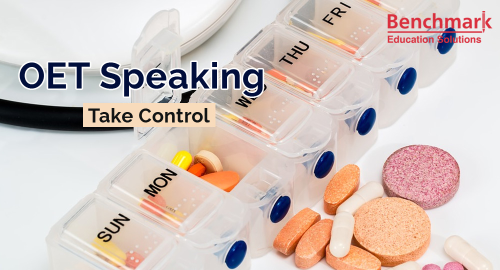 oet speaking take-control