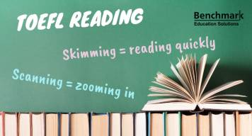 skimming and scanning in TOEFL