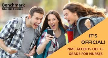NMC OET news