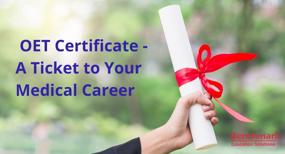 OET Certificate