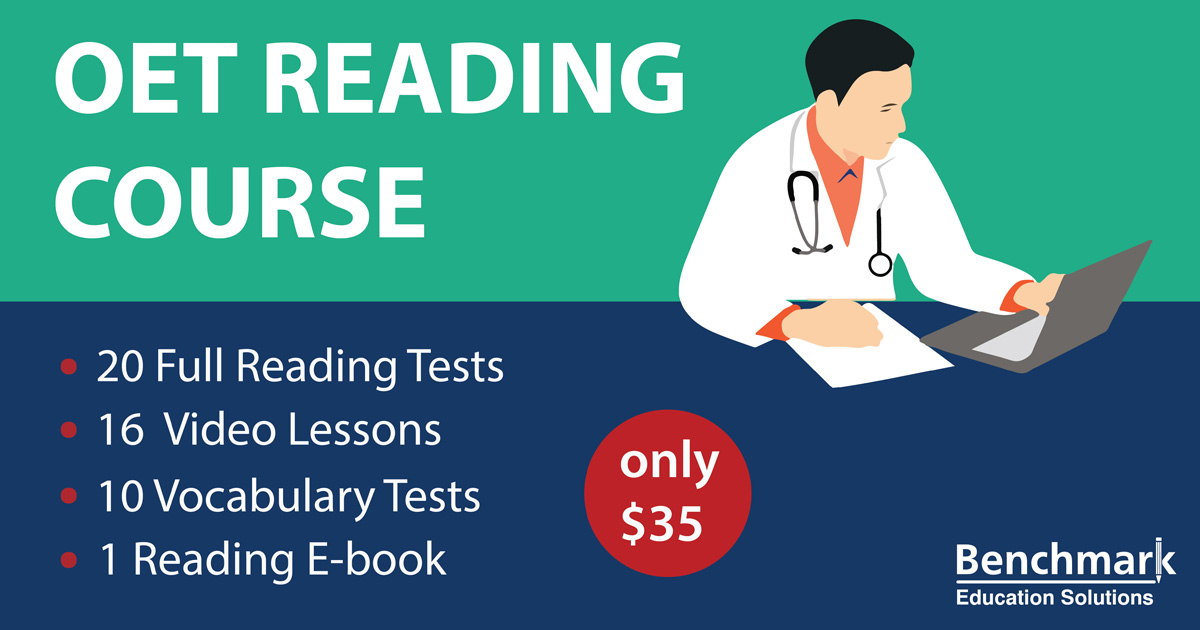 Oet Reading Samples Oet Reading Tips Materials For Nurses