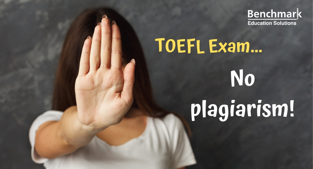 Plagiarism in the TOEFL exam a serious issue