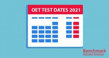 oet test dates 2021