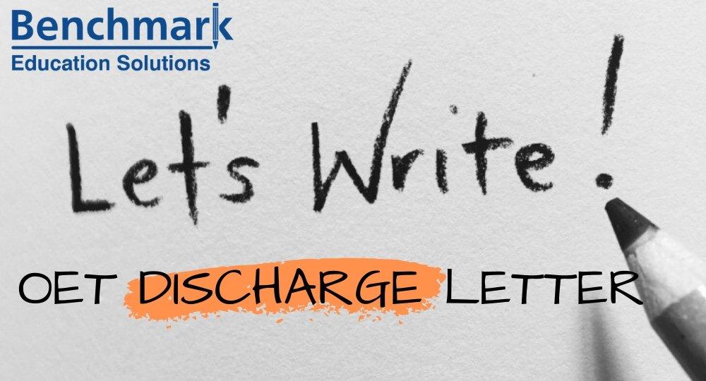 Oet Discharge Letter Sample Letter For Doctors And Nurses