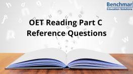 OET Reading Part C