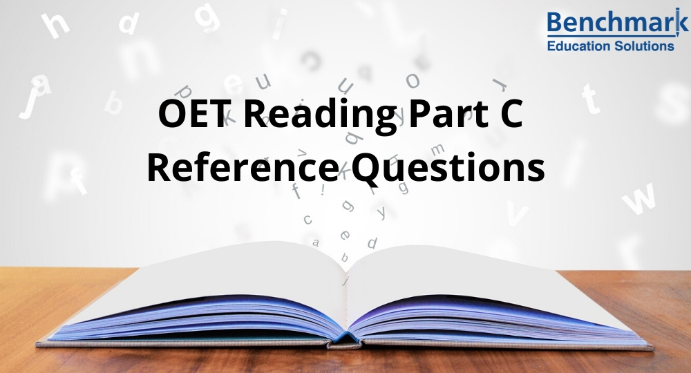 OET Reading Part C
