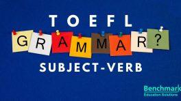 verb for TOEFL