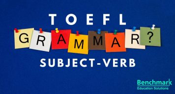 verb for TOEFL