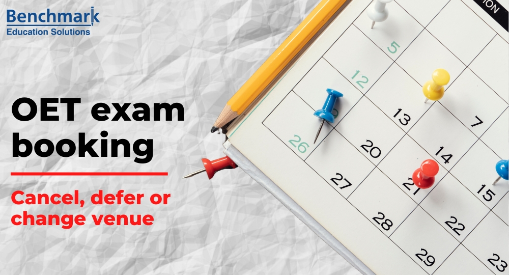 Your OET exam booking