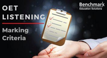 OET Listening Marking Criteria