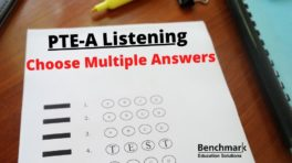 pte listening multiple choice multiple answer
