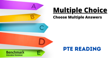 pte reading choose multiple answers