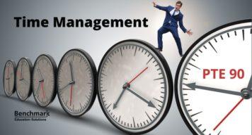 pte exam time management