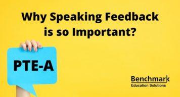 PTE Feedback Speaking