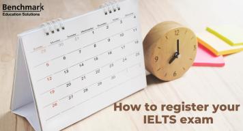 register for IELTS exam