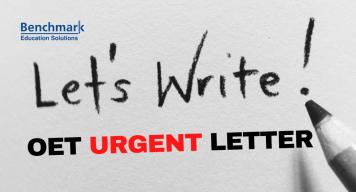 OET SAMPLE urgent LETTER