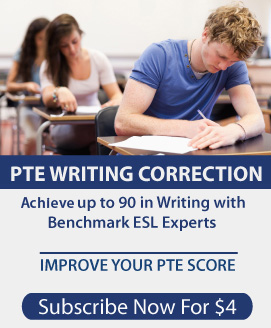 PTE Essay Summarise Written Text Correction