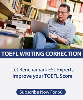 TOEFL Essay Correction