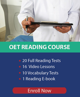 OET Reading Practice Tests Course