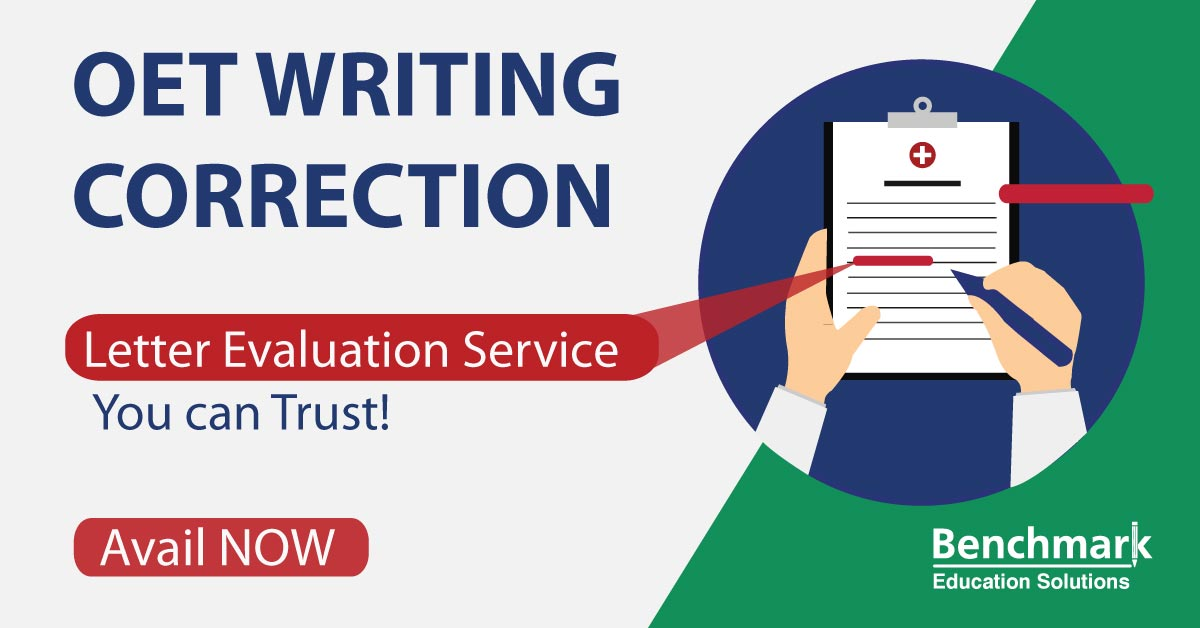 OET Writing Correction Service - Getting Grade B Made Easy!